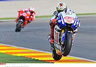 Jorge Lorenzo SPA..MotoGP ..GP Valencia (circuit Valencia)..05-07.11.2010..Photo: Stan Perec..