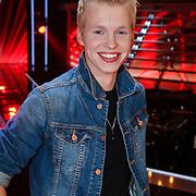 NLD/Amsterdam/20121130 - 4e liveshow The Voice of Holland 2012, Johannes Rypma