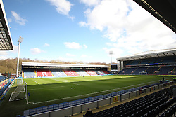 General view of  Ewood Park before the match - Mandatory by-line: Jack Phillips/JMP - 04/03/2017 - FOOTBALL - Ewood Park - Blackburn, England - Blackburn Rovers v Wigan Athletic - Football League Championship