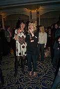 NATASHA PLOWRIGHT AND ROSIE ALLERHAND, Veuve Cliquot Business Woman Award. Berkeley Hotel 8 April 2008.  *** Local Caption *** -DO NOT ARCHIVE-© Copyright Photograph by Dafydd Jones. 248 Clapham Rd. London SW9 0PZ. Tel 0207 820 0771. www.dafjones.com.