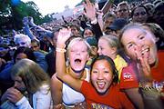 Large crowd at a festival, Quart festival, Kristiansands Norway 2000