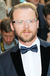 Simon Pegg, GQ Men of the Year Awards, Royal Opera House, London UK, 03 September 2013, (Photo by Richard Goldschmidt)