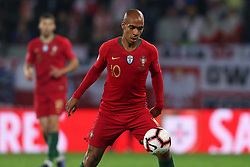 November 20, 2018 - Guimaraes, Guimaraes, Portugal - Joao Mario midfielder of Portugal in action during the UEFA Nations League football match between Portugal and Poland at the Dao Afonso Henriques stadium in Guimaraes on November 20, 2018. (Credit Image: © Dpi/NurPhoto via ZUMA Press)