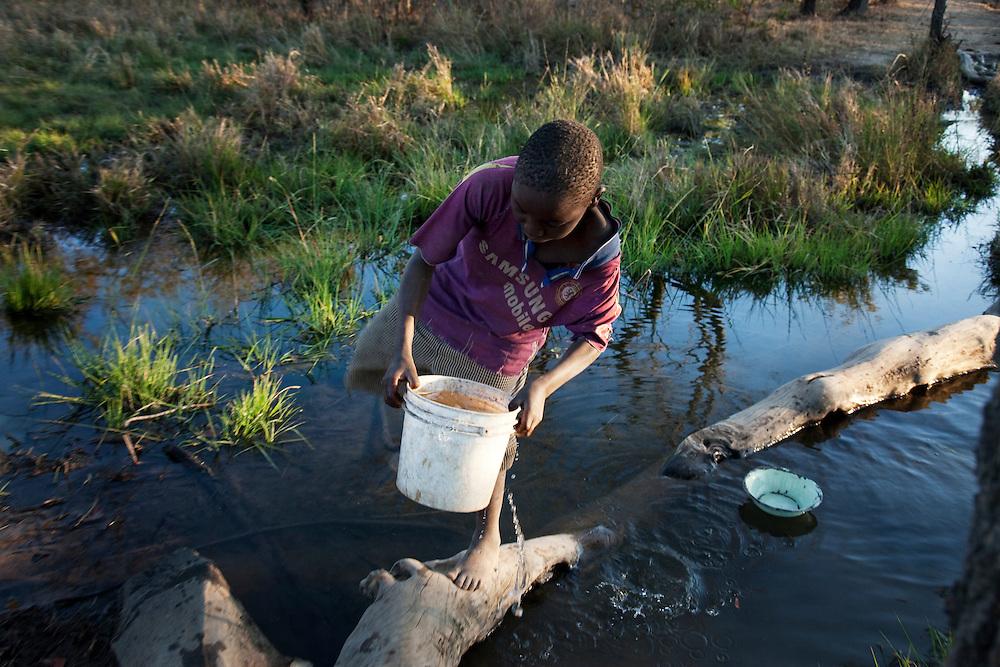Habeenzu village, Zambia.