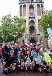 24-06-2017 NED: Start Homeride & Homerun, Utrecht<br /> Vanaf de Domplein startte de HomeRide en Homerun. Een 500km en 200 km event in 24 uur.