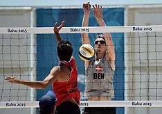 20150619 Baku 2015 European Games - Beachvolley - Danmark - Tyrkiet