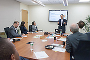 MCC Technology and Innovation Committee hosted a networking event with short presentations by MCC members working in the technology sector. Presenters included Imran Husain, Celeritas Solutions, who updated the audience on their businesses, the hottest technology trends and important innovations. The event was held at WithumSmith+Brown in New York.