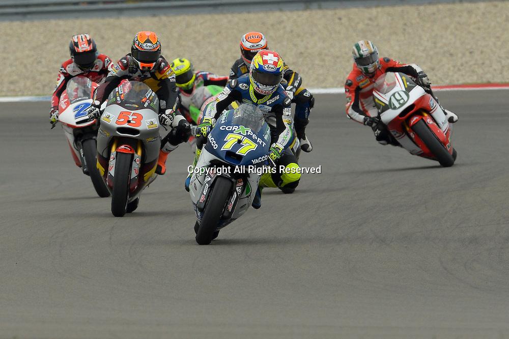 27.06.2014.  Assen, Netherlands. MotoGP. Iveco Daily TT Assen Qualifying. Dominique Aegerter(Technomag carexpert) during the qualifying sessions at TT Assen circuit.