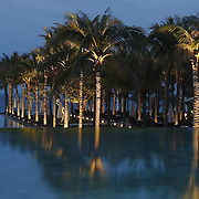 At the Nam Hai luxury resort in Danang, Vietnam.