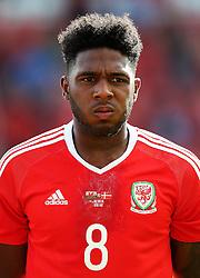 Ellis Harrison of Wales U21 - Mandatory by-line: Matt McNulty/JMP - 02/09/2016 - FOOTBALL - The Racecourse Ground - Wrexham, United Kingdom - Wales v Denmark - UEFA Euro 2017 U21 qualifying round