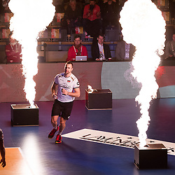 09.01.2016, Max Schmeling Halle, Berlin, GER, CEV Olympia Qualifikation, Deutschland vs Russland, im Bild Gyorgy Georg Grozer (#9, GER) // during 2016 CEV Volleyball European Olympic Qualification Match between Germany and Russia at the Max Schmeling Halle in Berlin, Germany on 2016/01/09. EXPA Pictures © 2016, PhotoCredit: EXPA/ Eibner-Pressefoto/ Wuechner<br /> <br /> *****ATTENTION - OUT of GER*****