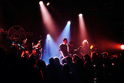 band during a Heavy Metal rock performance