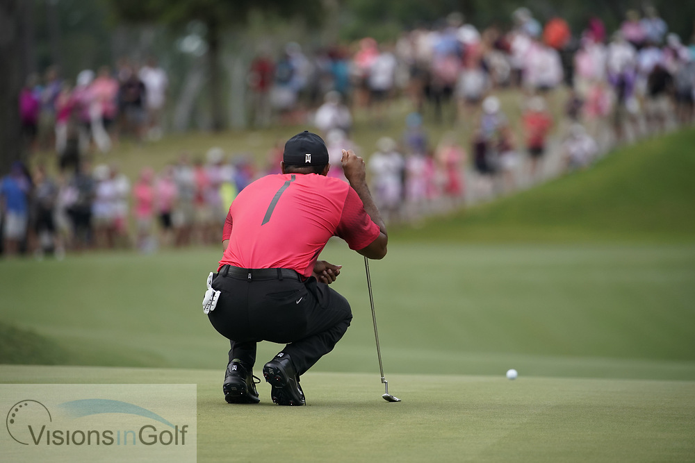 Tiger Woods<br /> On the final day