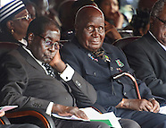 President Robert Mugabe Asleep During State Funeral