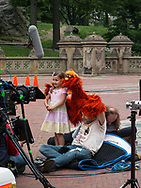 Elmo at Bethesda Terrace in Central Park