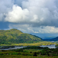 Ladies View along the Ring of Kerry, Ireland<br />