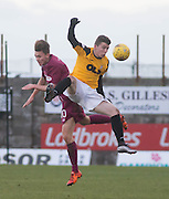 East Fife&rsquo;s Kyle Wilkie and Arbroath&rsquo;s Ali Coote - East Fife v Arbroath, SPFL League Two at New Bayview<br />