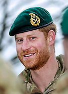 Prince Harry Visits Green Beret