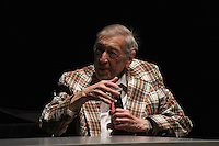 The University of Chicago's Contempo celebrated 50 years this Sunday with a concert at the Reva and David Logan Center located at 915 E. 60th Street.<br /> <br /> 0624 – Composer, Gunther Schuller spoke about his experience composing music as well as the pieces Contempo was going to perform.
