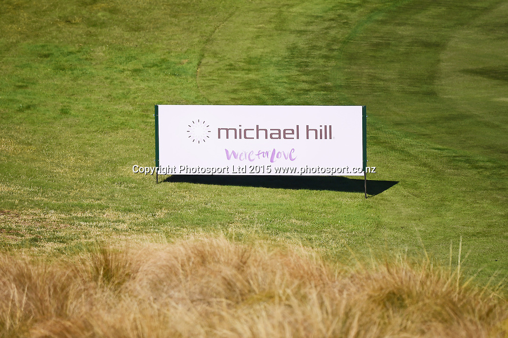 Michael Hill Diamond in the Rough Promotion at the 2015 BMW New Zealand Golf Open, The Hills, Arrowtown, New Zealand 14 March 2015. Copyright Photo: Andrew Cornaga / www.photosport.co.nz