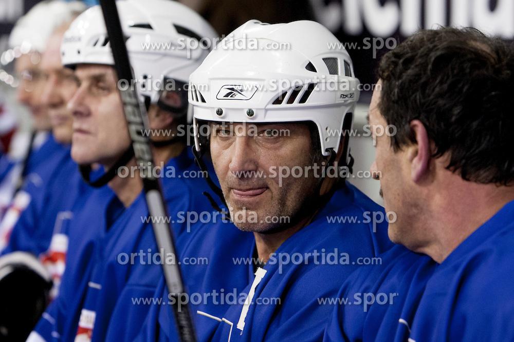 Mustafa Besic at Dan Slovenskega Hokeja, on February 3, 2014 in Hala Tivoli, Ljubljana, Slovenia. (Photo By Urban Urbanc / Sportida.com)