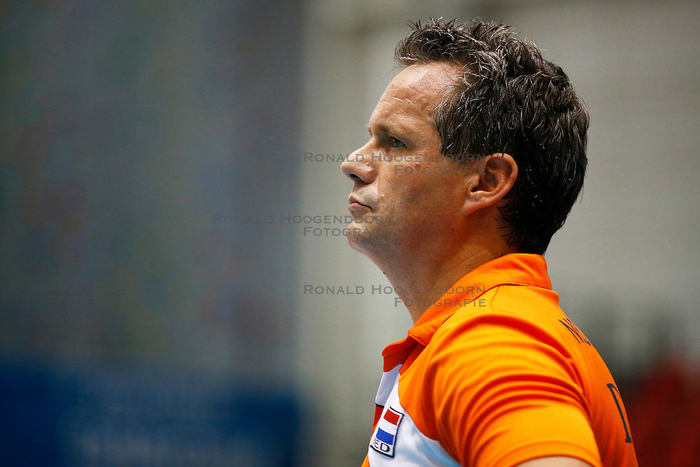 20140917 NED: Gelderland Cup, Nederland - Turkije, Doetinchem<br /> Guido Vermeulen, bondscoach Nederland<br /> ©2014-FotoHoogendoorn.nl / Pim Waslander