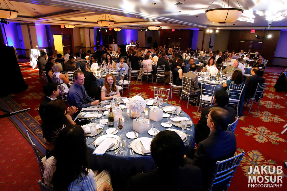 Intel employees attend the Intel Achievement Awards gala held at the Hyatt Santa Clara on Saturday, June 27, 2009. (© Photo by Jakub Mosur)