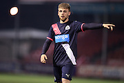 U21 Newcastle United's Mackenzie Heaney during the Barclays U21 Premier League match between U21 Brighton and Hove Albion and U21 Newcastle United at the Checkatrade.com Stadium, Crawley, England on 23 March 2016.