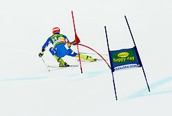 JAZBEC Janez of Slovenia competes during the 1st Run of 7th Men's Giant Slalom - Pokal Vitranc 2013 of FIS Alpine Ski World Cup 2012/2013, on March 9, 2013 in Vitranc, Kranjska Gora, Slovenia. (Photo By Vid Ponikvar / Sportida.com)
