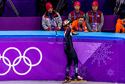 22-02-2018 KOR: Olympic Games day 13, PyeongChang<br /> Short Track Speedskating / Yara Van Kerkhof of the Netherlands, Jeroen Otter