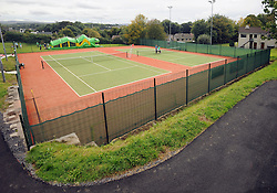 Pictured the upgraded courts at Westport Tennis Club .<br />