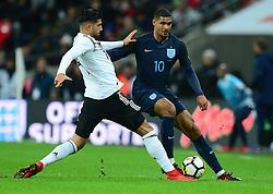 Ruben Loftus-Cheek of England under pressure from Emre Can of Germany - Mandatory by-line: Alex James/JMP - 10/11/2017 - FOOTBALL - Wembley Stadium - London, United Kingdom - England v Germany - International Friendly
