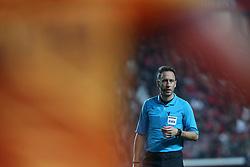 December 23, 2018 - Lisbon, Portugal - Referee Artur Soares Dias during the Portuguese League football match SL Benfica vs SC Braga at the Luz stadium in Lisbon on December 23, 2018. (Credit Image: © Pedro Fiuza/NurPhoto via ZUMA Press)