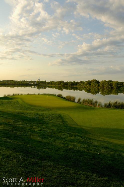 Hole No. 16 at Hazeltine National Golf Club...© 2006 Scott A. Miller