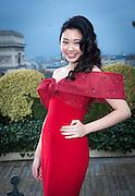 EXCLUSIVE<br /> REBECCA EU- Backstage Le Bal - Raphael Palace in Paris <br /> ©Exclusivepix