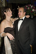 Mr AND Mrs.  Russell Sternlicht, ( owner of the Crillon hotel) Crillon Debutante Ball 2007,  Crillon Hotel Paris. 24 November 2007. -DO NOT ARCHIVE-© Copyright Photograph by Dafydd Jones. 248 Clapham Rd. London SW9 0PZ. Tel 0207 820 0771. www.dafjones.com.
