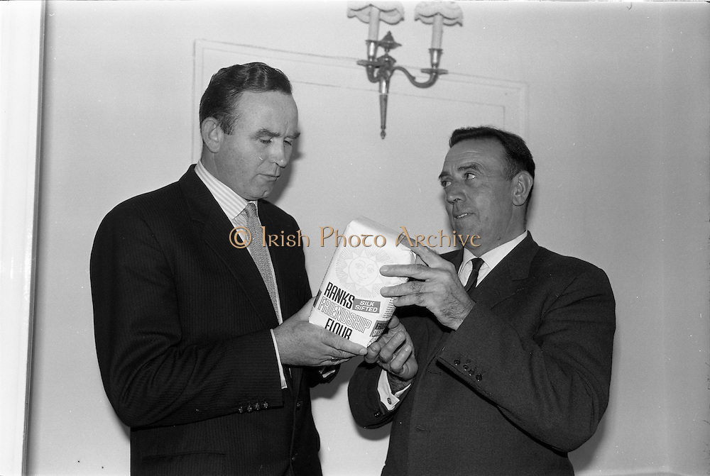 21/09/1963<br /> 09/21/1963<br /> 21 September 1963<br /> Ranks Ireland (Sales) Limited, Sales Conference and Luncheon at the Shelbourne Hotel, Dublin to promote Ranks Friendship Flour.
