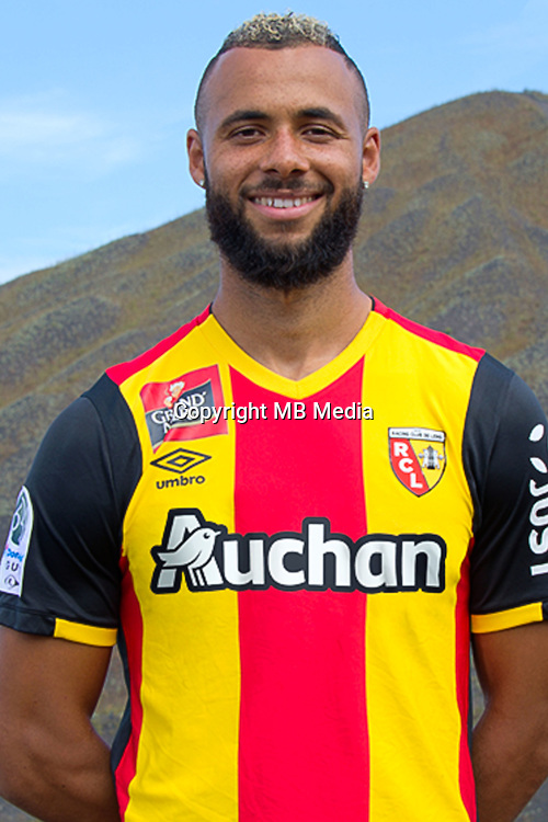 John Bostock during the photocall of Lens for new season on October 17th 2016