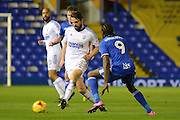Ipswich Town midfielder Jonathan Douglas (22) plays a pass 0-0 during the EFL Sky Bet Championship match between Birmingham City and Ipswich Town at St Andrews, Birmingham, England on 13 December 2016. Photo by Alan Franklin.