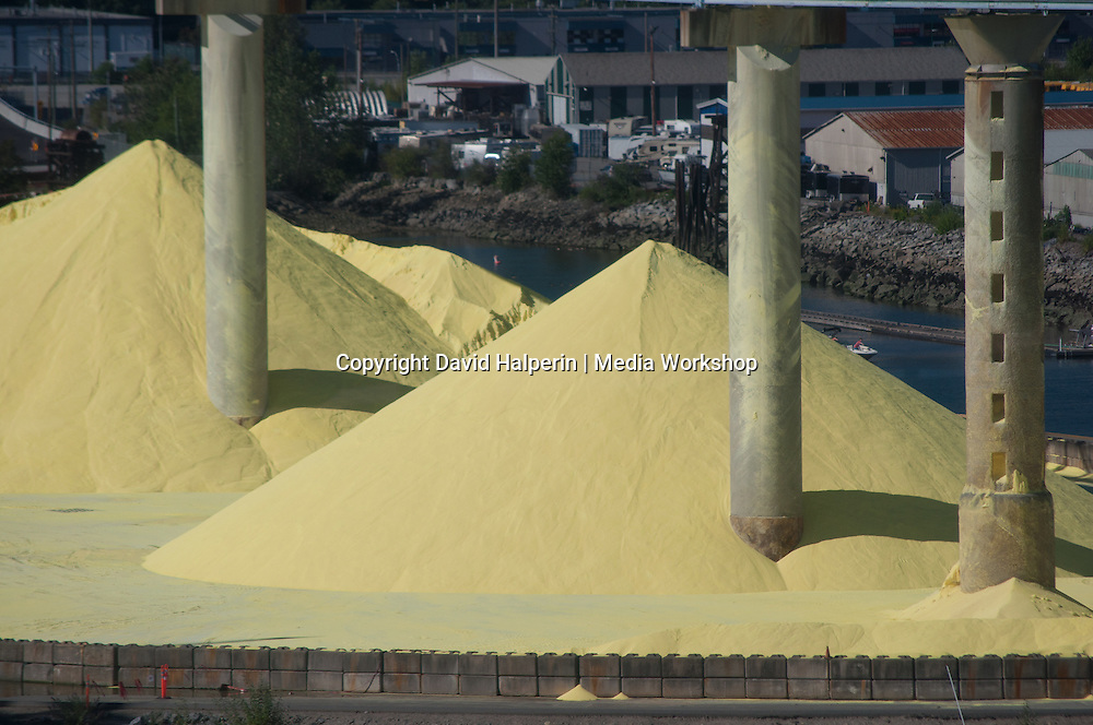 Sulfur Piles, Vancouver Harbor