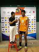 WORLD'S TALLEST VOLLEYBALL PLAYER ENROLS AS A SOLDIER