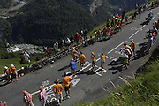 FRANCE 25th JULY 2007: Images from Stage 16 Orthez to Gorette - Col d'Aubisque.