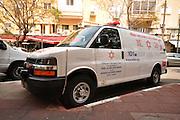Magen David Adom Ambulance,