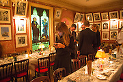 JEMIMA KHAN, Charles Finch and  Jay Jopling host dinner in celebration of Frieze Art Fair at the Birley Group's Harry's Bar. London. 10 October 2012.