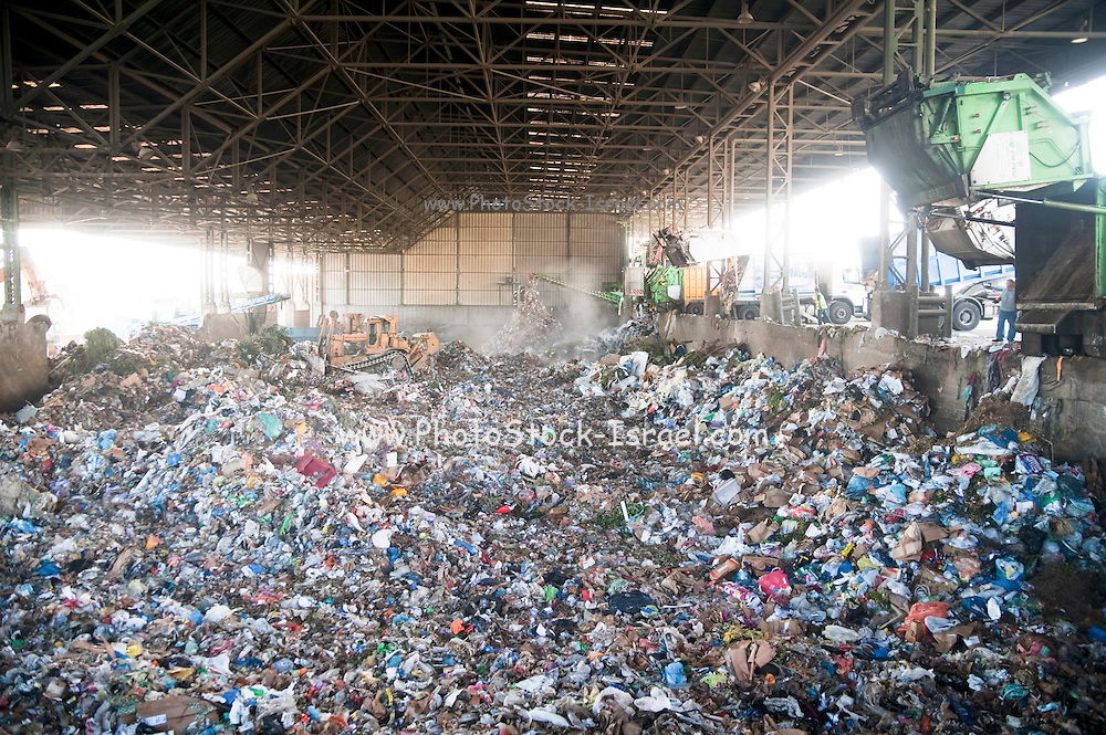 Israel, Hiriya, The largest waste transfer station in the Middle East. This facility is operated by the local municipality, the Dan Association of Towns and uses the Israeli-designed mechanical biological treatment process.