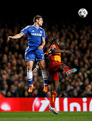 Chelsea Defender Cesar Azpilicueta (ESP) in action - Photo mandatory by-line: Rogan Thomson/JMP - 18/03/2014 - SPORT - FOOTBALL - Stamford Bridge, London - Chelsea v Galatasaray - UEFA Champions League Round of 16 Second leg.