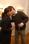 CLAUDIA WINKLEMAN AND CHARLIE PHILLIPPS.  Jonathan Yeo exhibition Private view. Eleven. London. 16 February 2006. ONE TIME USE ONLY - DO NOT ARCHIVE  © Copyright Photograph by Dafydd Jones 66 Stockwell Park Rd. London SW9 0DA Tel 020 7733 0108 www.dafjones.com