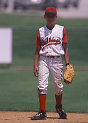 Edmond Bulldogs 12 year old baseball team with Adam Pratt playing at Dr. Pepper Youth Stadium in Arlington, TX.
