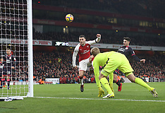 Arsenal v Huddersfield, 29 Nov 2017