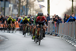 Valerie Demey at Ronde van Drenthe 2018 - a 157.2 km road race on March 11, 2018, from Emmen to Hoogeveen, Netherlands. (Photo by Sean Robinson/Velofocus.com)